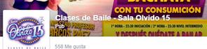 Facebook Clases de Baile Sala Olvido